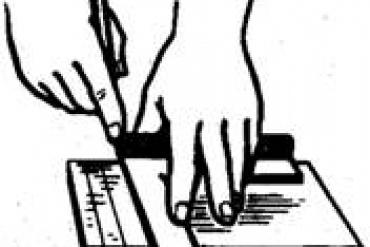 Kỹ thuật vạch dấu trong gia công nguội