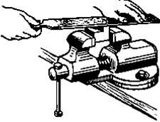 Kỹ thuật giũa trong gia công cơ khí.