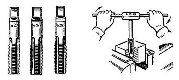 Kỹ thuật gia công ren bằng tay