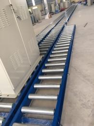 Băng tải con lăn vận chuyển tủ điện